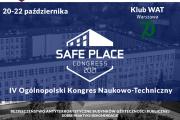IV edycja Kongresu Bezpieczeństwa Antyterrorystycznego Budynków Użyteczności Publicznej SAFE PLACE 2021