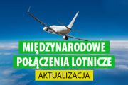 Przedłużenie zakazu w międzynarodowym ruchu lotniczym do 27 października 2020